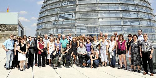 Besuchergruppen zu Gast in Berlin